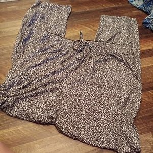 Tahari Patterned Pajama Pants